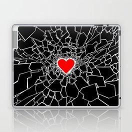 Heartbreaker III Black Laptop & iPad Skin