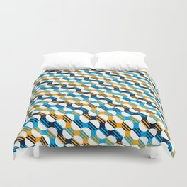 People's Flag of Milwaukee Mod Pattern Duvet Cover