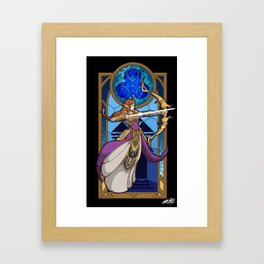 Zelda Princess of Wisdom Framed Art Print