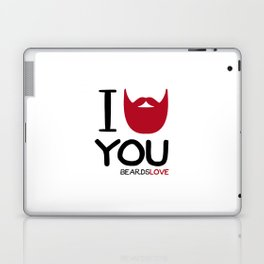I BEARD YOU Laptop & iPad Skin