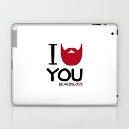 I BEARD YOU Laptop & iPad Skin