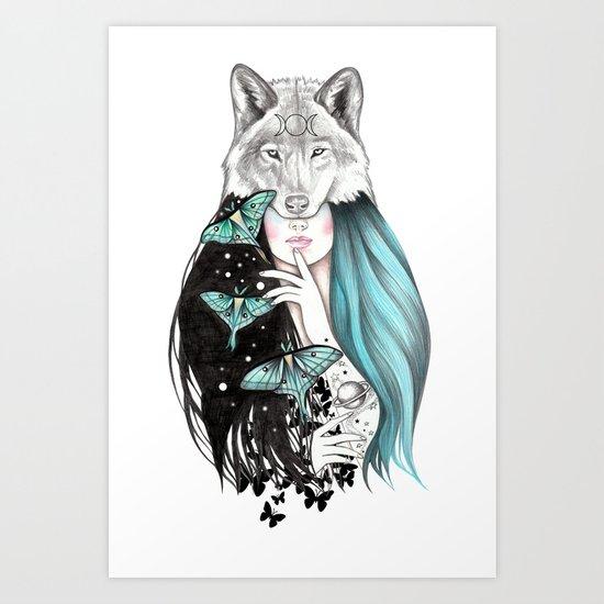 Luna by andreahrnjak