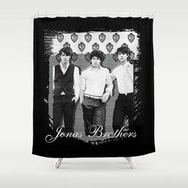 JONAS BROTHERS OLD SCHOOL Shower Curtain