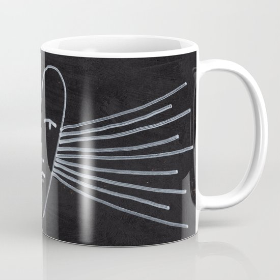 radiant heart Mug