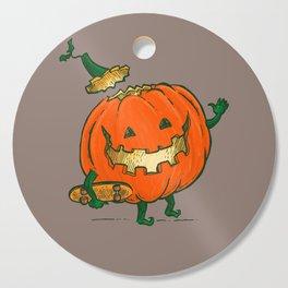 Skatedeck Pumpkin Cutting Board