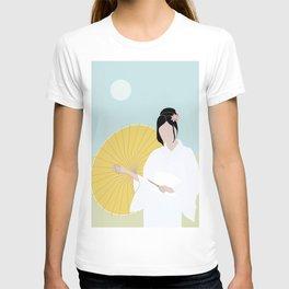 Wagasa and kimono T-shirt