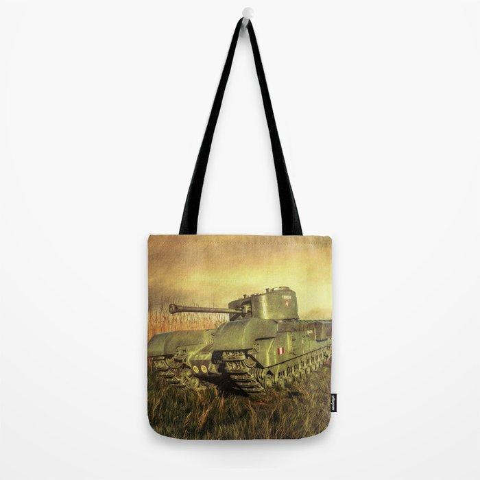 Churchill Tank Tote Bag