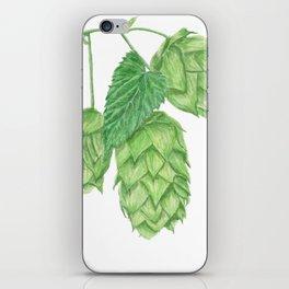 Beer Hop Flowers iPhone Skin