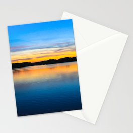 Sunset at Stumpy Lake in Virginia Beach Stationery Cards