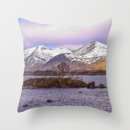 Highland 3 | Musical Crime Productions | Highland Photography Throw Pillow