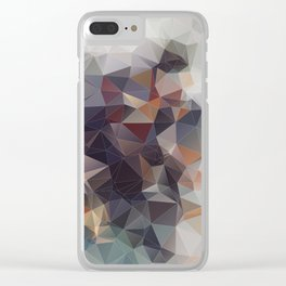GRA GRA GRAPES Clear iPhone Case