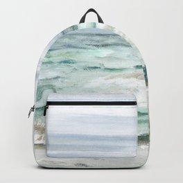 Oceanscape of Anna Maria Island Florida. Backpack