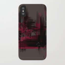 """Abstract Porstroke"" iPhone Case"