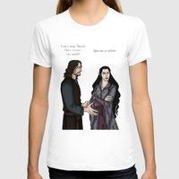 aragorn T-shirts featuring Quarrel by wolfanita