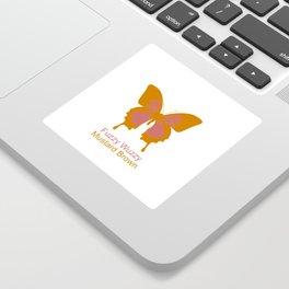 Ulysses Butterfly 12 Sticker