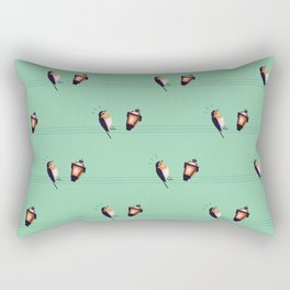 Feeling Wired (Pattern) Rectangular Pillow
