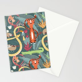 Rain forest animals 003 Stationery Cards