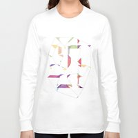 fly Long Sleeve T-shirts featuring fly  by sandesign