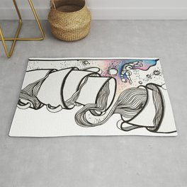 Space Cups Rug