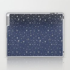 Silver Stars Reach Laptop & iPad Skin