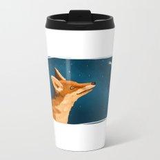 Fox and Stars Metal Travel Mug