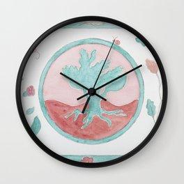 Racines Wall Clock