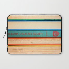 Hickory Dickory Death - Vintage Mystery Book Laptop Sleeve