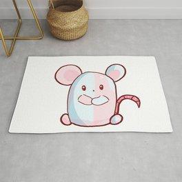 Kawii mouse Rug