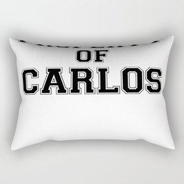 Property of CARLOS Rectangular Pillow