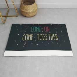2. come together Rug