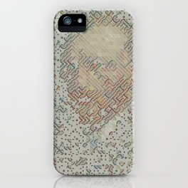 Digital expressionism 015 iPhone Case