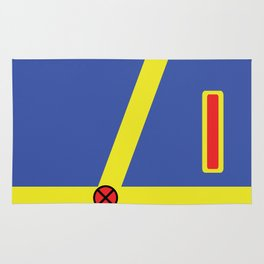 Cyclops - Minimalist - XMen Rug