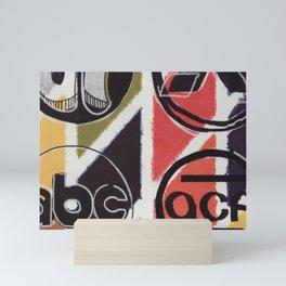 Corporate Logos 1960 Mini Art Print