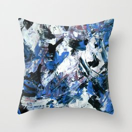Disintegration Throw Pillow