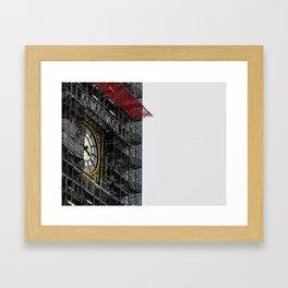 Big Ben Reconstructed Framed Art Print