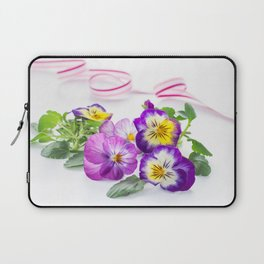 pansy 03 Laptop Sleeve