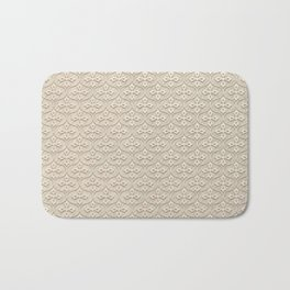Blond Trellis Bath Mat