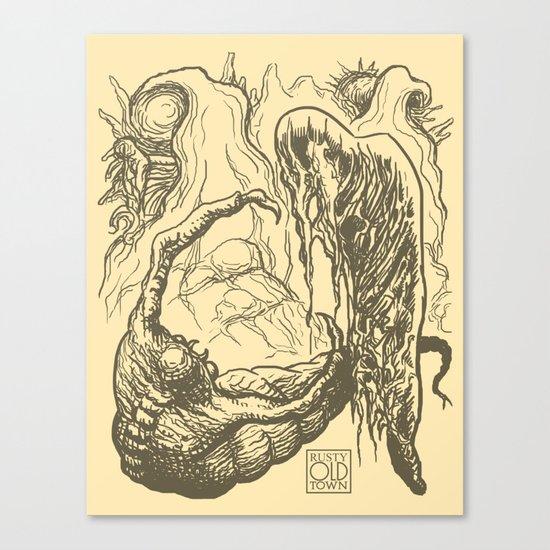 Alien Doom Canvas Print
