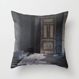 A Door to Nowhere Throw Pillow