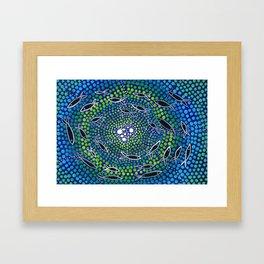 Fish - learning Framed Art Print