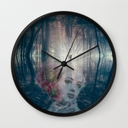 Fascinator Wall Clock