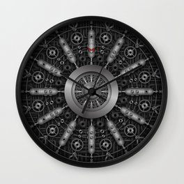 collider Wall Clock