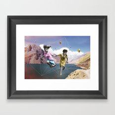 Espace Framed Art Print
