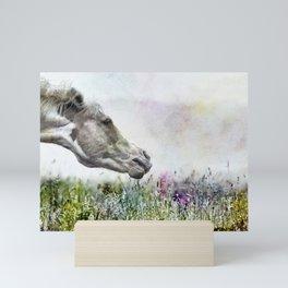 Shake It Off special textured Mini Art Print