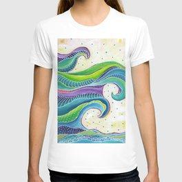 Tribal Wave I T-shirt