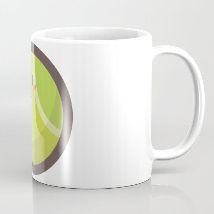 Tennis Ball Emoji Coffee Mug By Azza1070 Society6