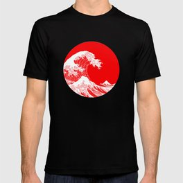 Hokusai great wave of Kanagawa T-shirt