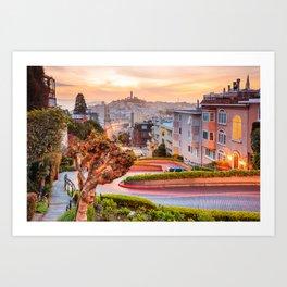 San Francisco 01 - USA Art Print