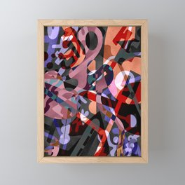 Propaganda Framed Mini Art Print