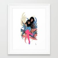 80s Framed Art Prints featuring 80s by Allen Holt